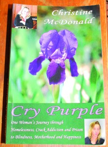 Cry Purple •Cry Purple is available for purchase at Amazon.com •For more about Christine, visit www.crypurple.com or www.facebook.com/crypurplebook