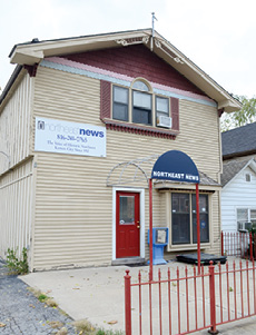 Community newspaper. Northeast News, located at 5715 St. John Ave., has been serving the Historic Northeast for 81 years. NE News focuses on the issues, events and people that affect Northeast. Leslie Collins