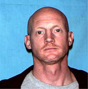 "Russell L. Townsend White male, 42 Height: 5'7"" Weight: 170 lbs. Last known address: 615 Brooklyn Wanted: Platte County. Felony warrant for Shipping Illegal Explosives"