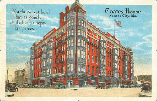 Coat House Postcard