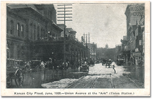 PC-union ave 1908 flood.jpg