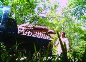 Submitted photo of illegal dumper.