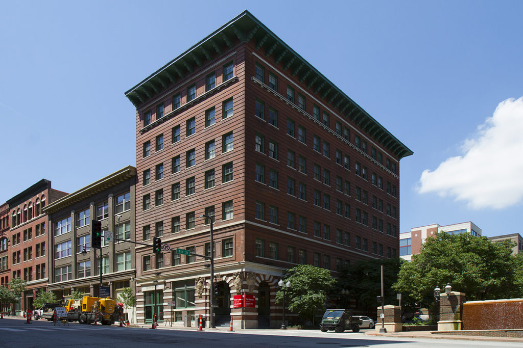 The Kansas City Museum's new programming space is located at 800 Broadway.