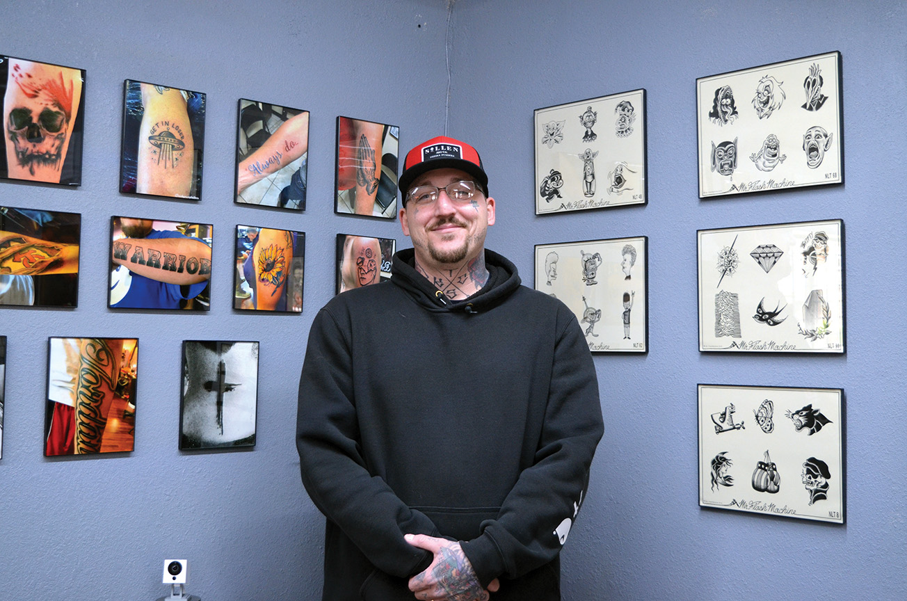137eca081 Tattoo artist discusses his journey in the industry, opening shop in  Northeast